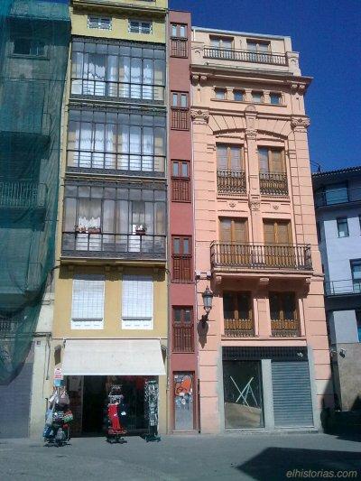La casa más estrecha de Valencia, y dicen que de Europa
