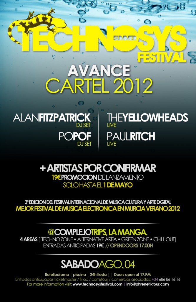 Technosys Summer Festival 2012. Avance