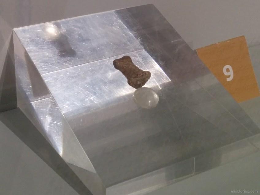 Segunda falange del quinto dedo de la mano derecha de un Homo Sapiens