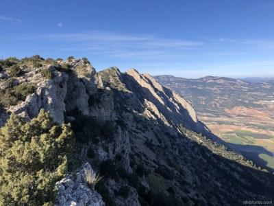 Cerro de Piedras Blancas y Loma del Repelón. Sierra Espuña
