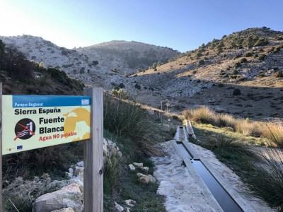 Fuente Blanca. Sierra Espuña