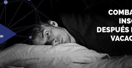 Combatir el insomnio después de las vacaciones