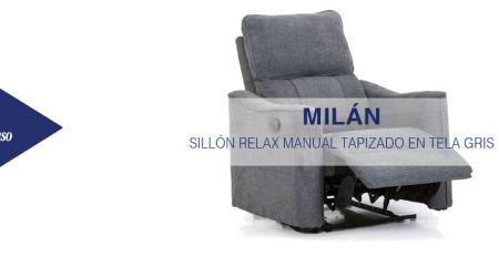 sillón relax milán