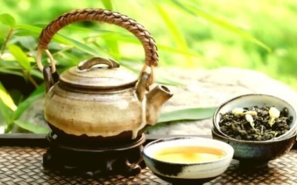 té de hierbas para próstata de té verde