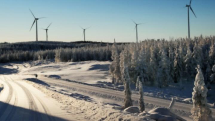 Eólica en Suecia