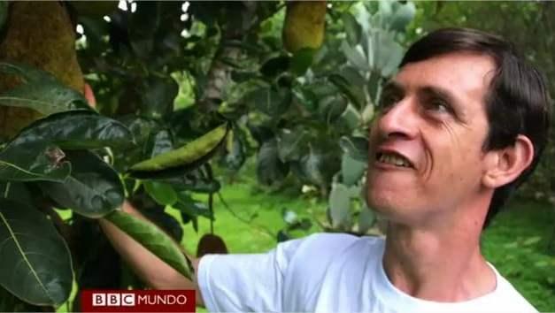 Coleccionista de frutas ha plantado más de 1300 especies raras y exóticas