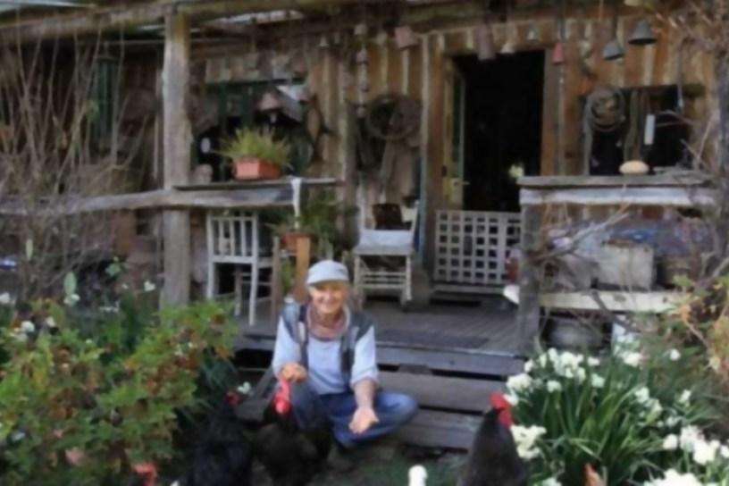 La mujer que ha vivido más de 30 años de su huerta, conoce a Jill Redwood