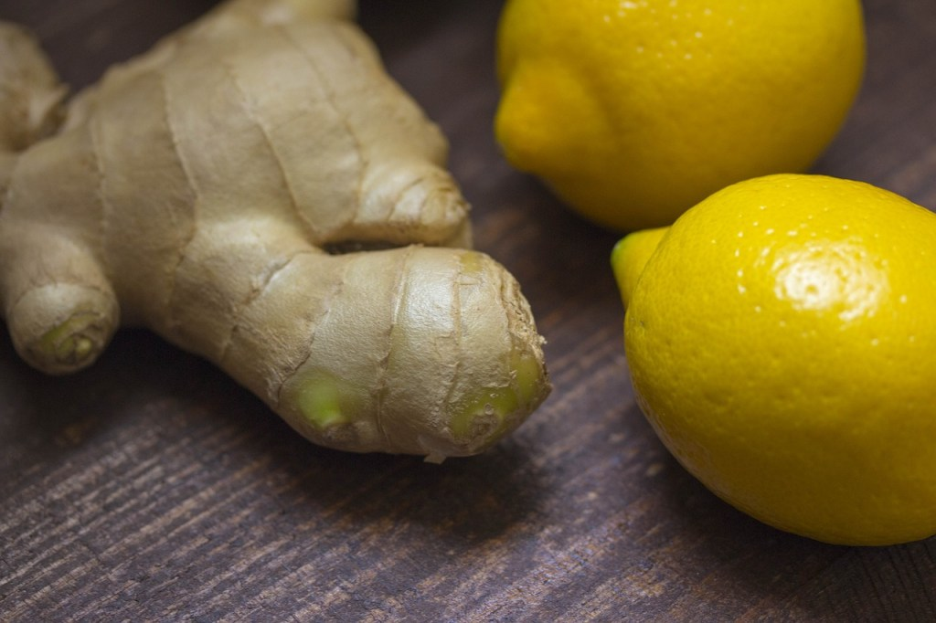 te de jengibre y limon