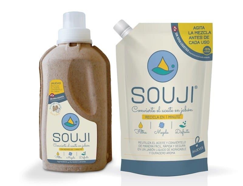 Este producto convierte tu aceite de cocina usado en detergente