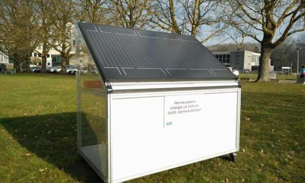 Científicos belgas crean panel solar que produce hidrógeno