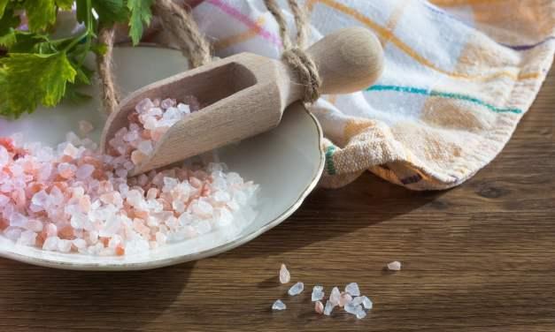 Esto le sucede a tu cuerpo cuando consumes sal rosada del Himalaya