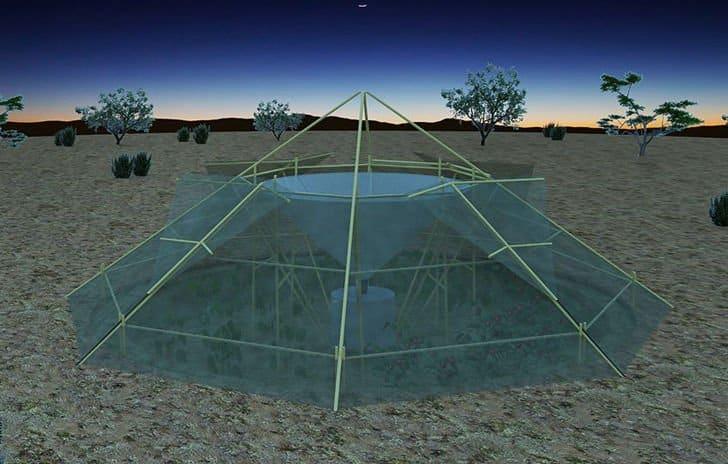 Roots Up. Invernadero colector de agua de rocío ofrece verduras y agua en Etiopía