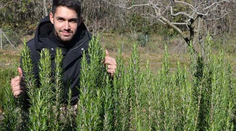 , Se gradúa y pide una parcela de tierra como regalo: 'las especias y las plantas aromáticas son mi futuro'