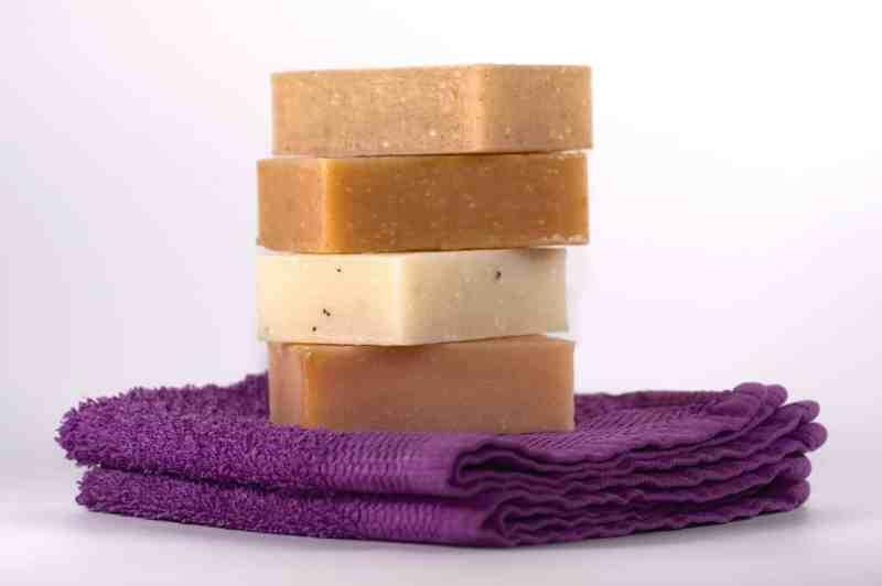 Jabón casero con aceite usado