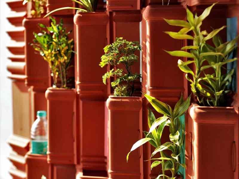 India: utilizan tejas de arcilla y plantas para crear efectivo sistema de refrigeración natural