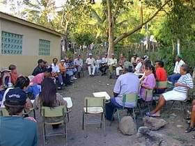 Comunidad rural en San Francisco de Macorís demanda solucionar las demandas de un centro docente.