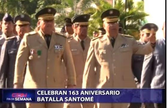 Celebran 163 aniversario Batalla Santomé.