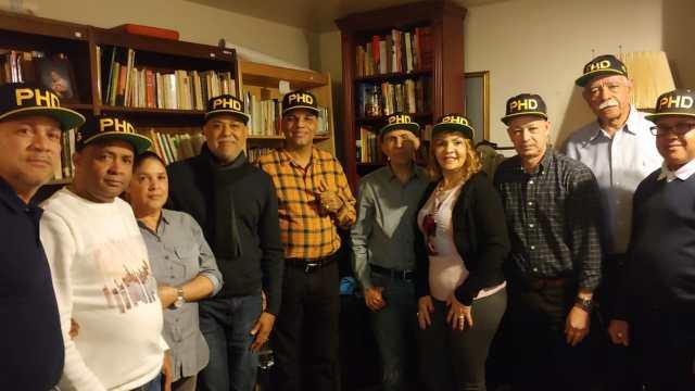 Ramón Emilio Goris, Sec. Gral. del  PHD encabeza encuentro de Navidad con Dirigentes en New York.
