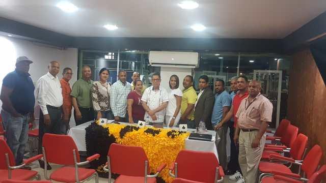 El presidente del Partido Humanista Dominicano Elexido Paula realiza encuentro de activistas y coordinadores en la región norte.-
