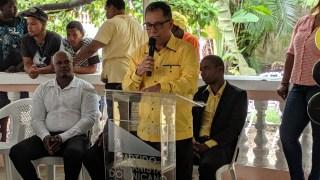 PHD hace lanzamiento de sus candidatos en el Distrito municipal de El carril de Haina.