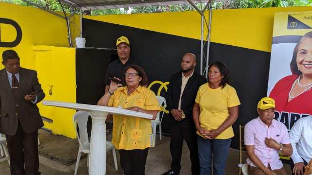 El Partido Humanista Dominicano lanza la tarde de este domingo la candidatura de la Mami en Quita Sueño.