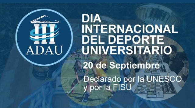 Día Internacional del Deporte Universitario.