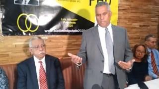 Empresario Bladimir Flores lanza candidatura a diputado por el PHD en el exterior.