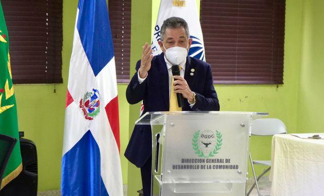 DGDC y SUPÉRATE firman acuerdo de cooperación para implementar acciones conjuntas en favor de familias vulnerables.