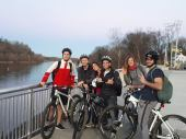 Biking along the Tennessee River