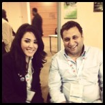 With Aiman Okail, president of ALF Network, Egypt