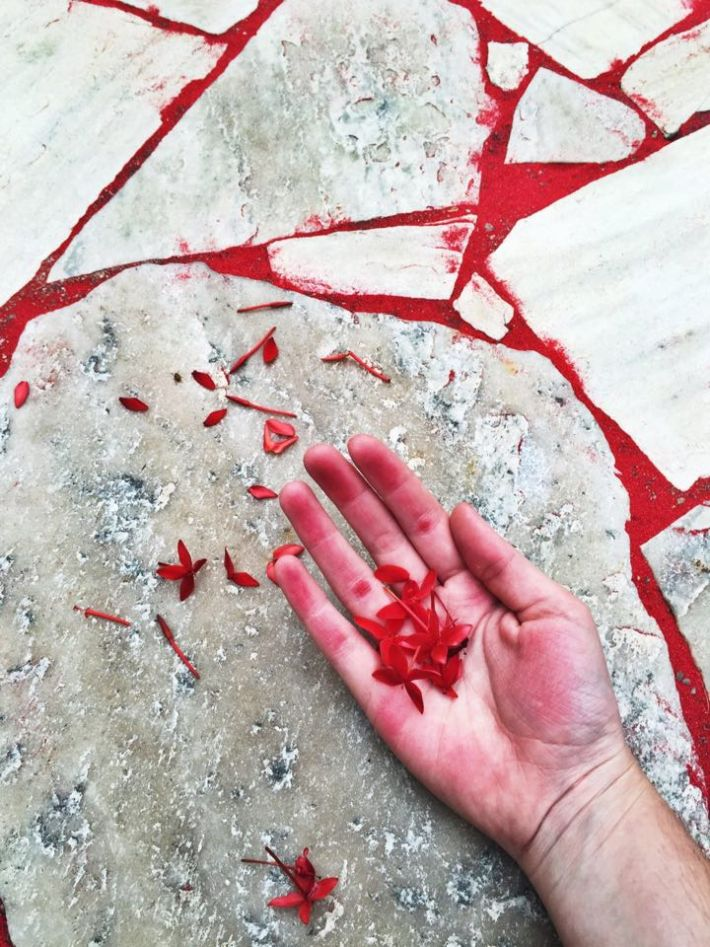 Daniela Figueirôa artwork, Red Sand Project