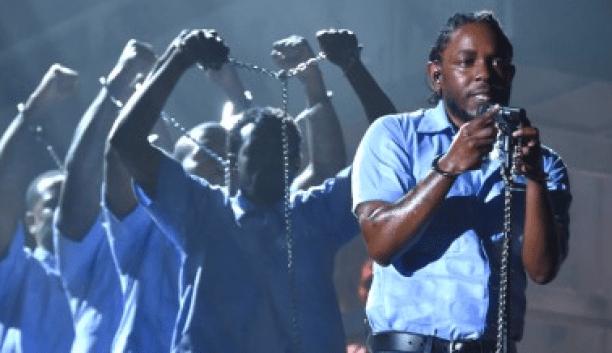 Kendrick Lamar Grammy 2016 por Eliane Figueirôa