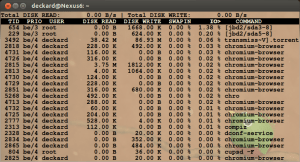 iotop - oa Captura de tela de 2013-03-17 10:29:27