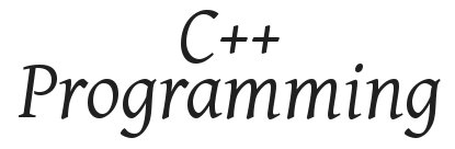 C++_programming