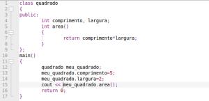 c++, programação orientada a objetos