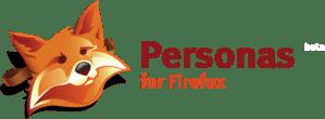 Personas firefox beta logo
