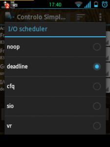noop deadline android schedulers