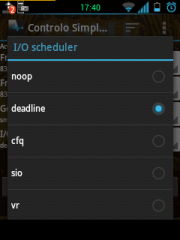 noop deadline android schedulers