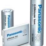 Baterias ions de litio panasonic