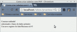 MySQL Tutorial - Script PHP para inserir dados no MySQL