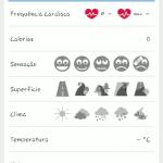 Runtastic screenshot resumo da atividade