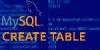tutorial mysql - criar tabela com create table