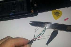 Motorola Razr D1 cabo mini USB