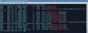 comando ps aux linux