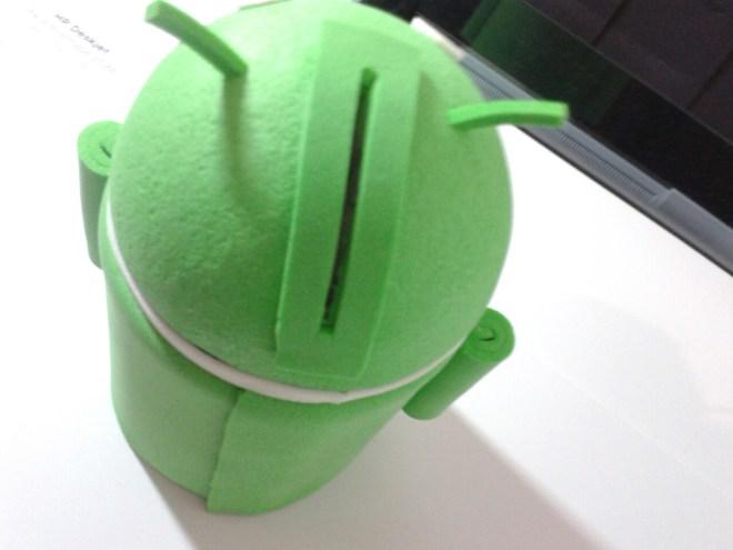 Cofre para moeads Android - atrás
