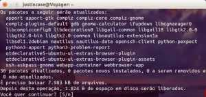 Ubuntu - sudo apt-get upgrade