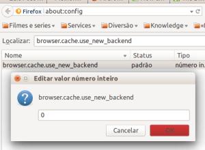 Ubuntu Firefox http cache