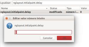 aumentar velocidade de carregamento das páginas no Firefox