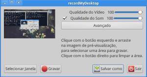 Ubuntu recordmydesktop tela