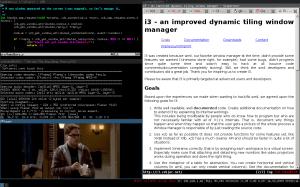 i3 screenshot captura de tela